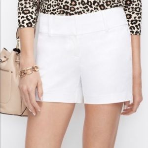 Anne Taylor The City Short In White NWT